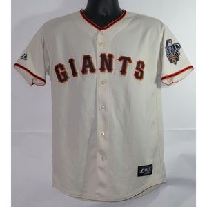 SF Giants World Series Jersey Buster Posey XL
